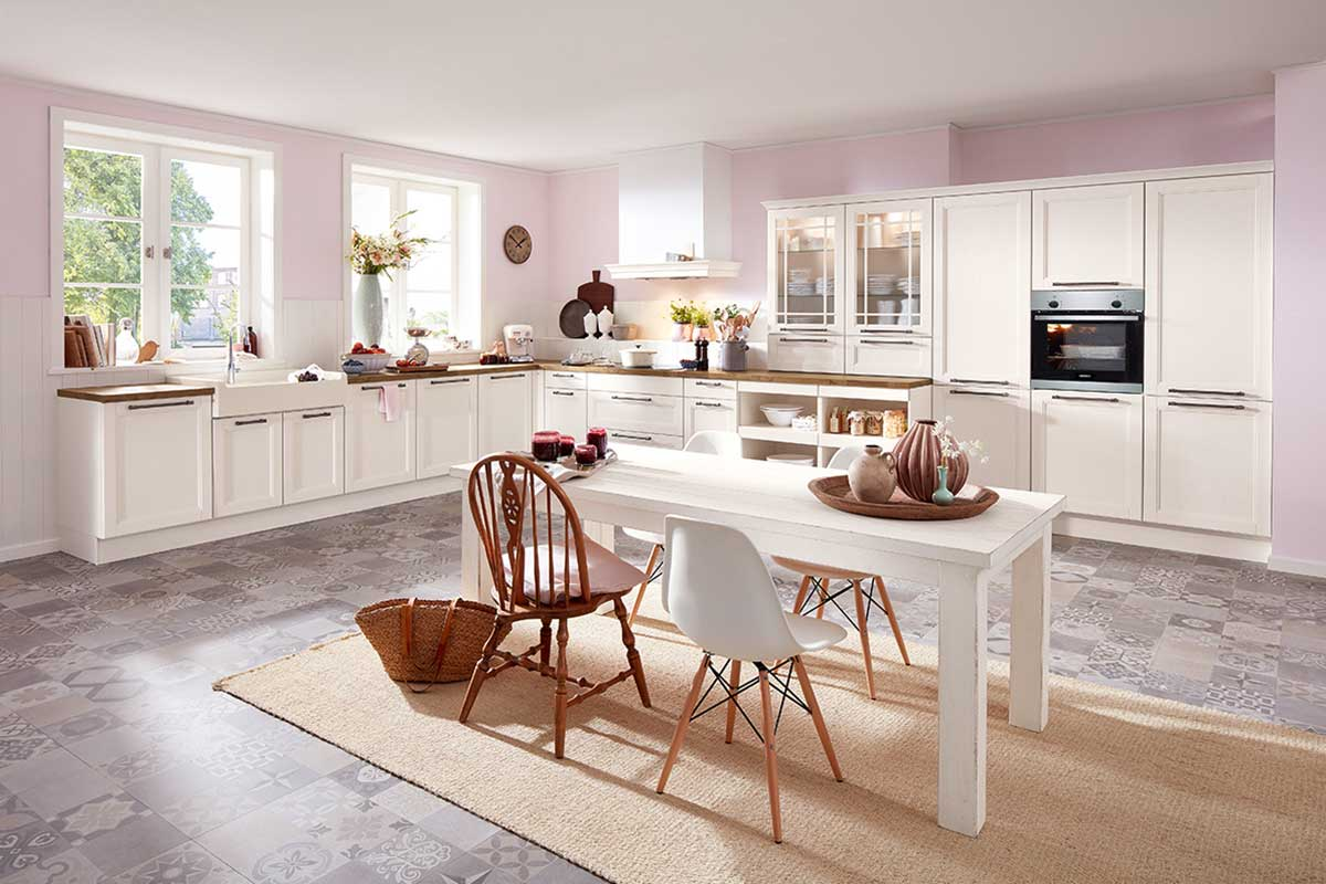 Landhausküche bild brigitte küchen